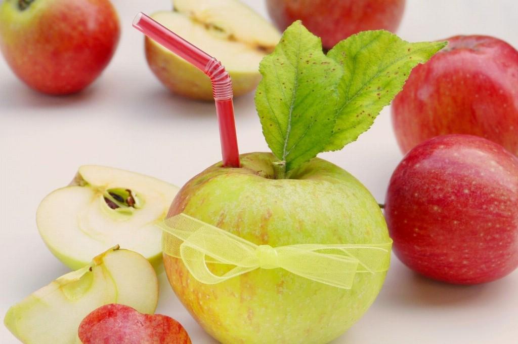 Obst zum Entsaften