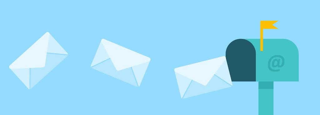 Briefsendungen im Postkasten