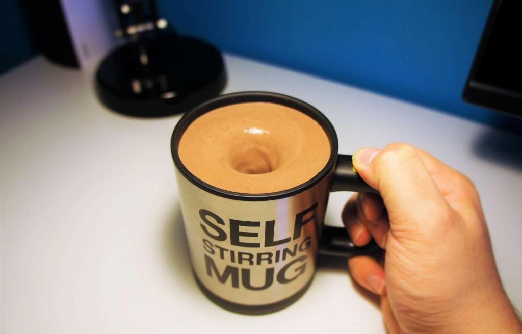 Kaffeetasse mit Strudel